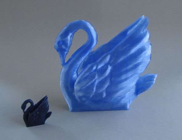 Medium Odile The Swan 3D Printing 21743
