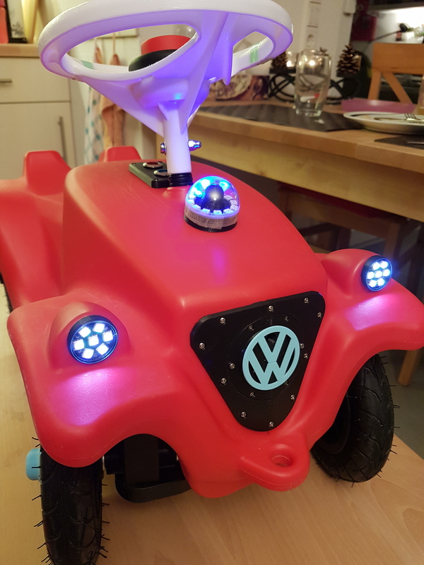 Medium bobby car lights 3D Printing 217464