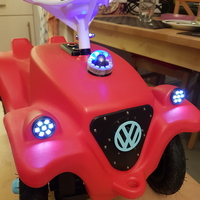 Small bobby car lights 3D Printing 217464
