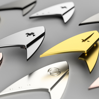 Small Star trek Discovery - all badges 3D Printing 217502