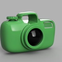 Small Baby / Cartoon camera 3D Printing 217505