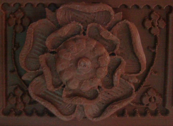 The Tudor Rose Box (with secret lock) 3D Print 21752