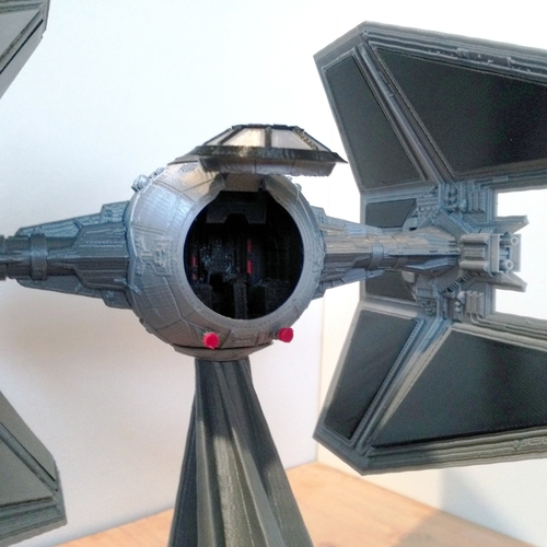 STAR WARS TIE INTERCEPTOR – Detailed & Printable 3D Print 217526