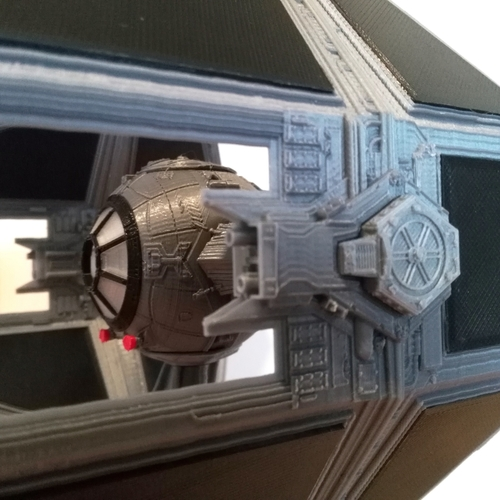 STAR WARS TIE INTERCEPTOR – Detailed & Printable 3D Print 217528