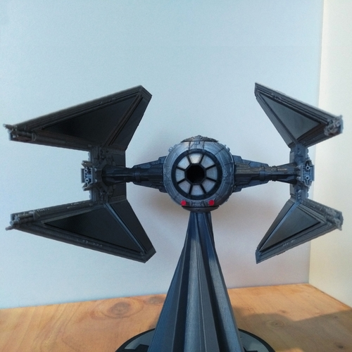 STAR WARS TIE INTERCEPTOR – Detailed & Printable 3D Print 217531