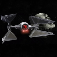 Small STAR WARS TIE INTERCEPTOR – Detailed & Printable 3D Printing 217533