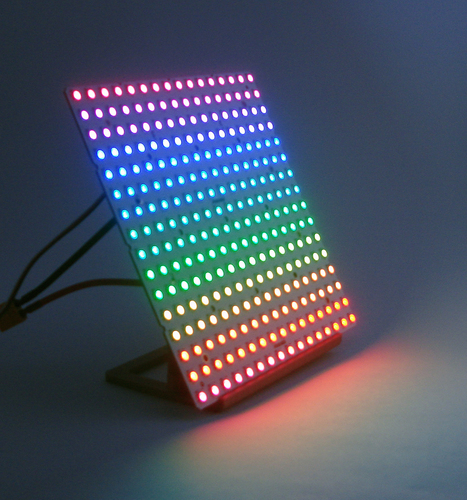 Stand for RGB123 16 x 16 LED matrix 3D Print 21754