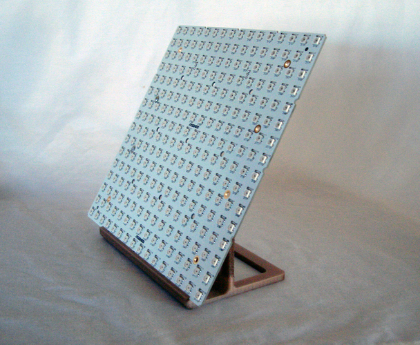 Stand for RGB123 16 x 16 LED matrix 3D Print 21755