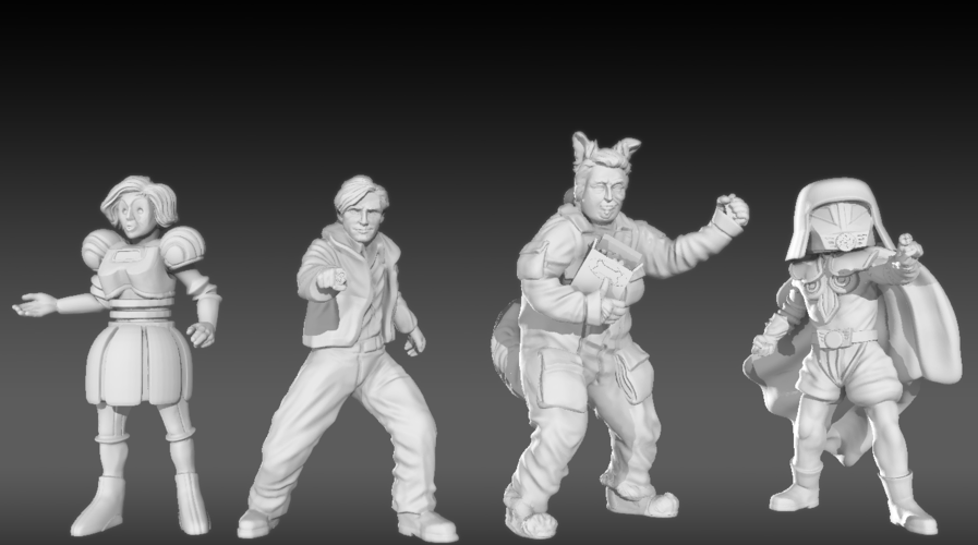 SpaceBalls Bundle 3D Print 217559