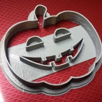 Small Halloween cookie-cutter - Pumpkin 3D Printing 217598