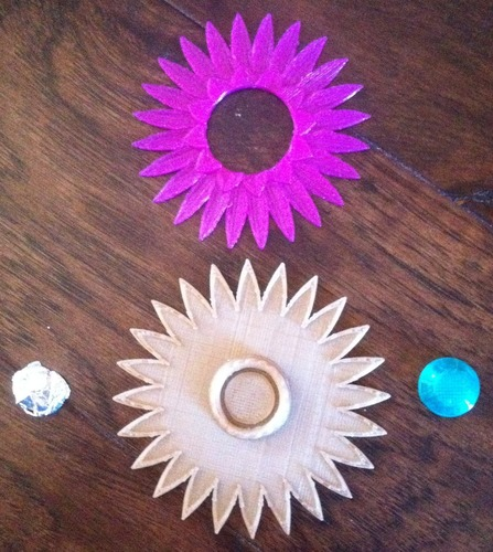 Christmas Flower Jewel 3D Print 21769