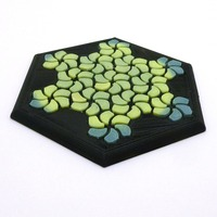 Small Tessellating Flower Coaster Reloaded 3D Printing 21775