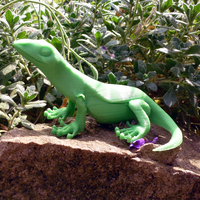Small Little Lizard 3D Printing 21788
