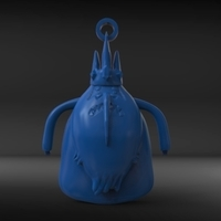 Small Ice King Pendant 3D Printing 217943