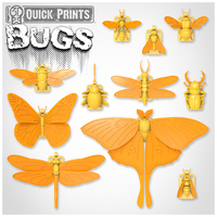 Small Bugs - by 3DKitbash.com 3D Printing 21805