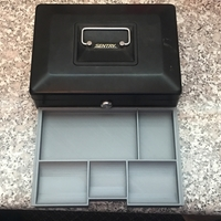 Small Sentry Cash Box Tray 3D Printing 218193