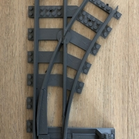 Small train track switch 3D Printing 218327