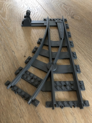 train track switch 3D Print 218329