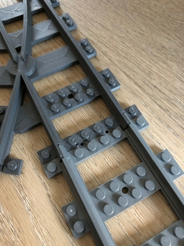 train track switch 3D Print 218330
