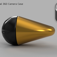 Small Essential 360 Camera Case  3D Printing 218353