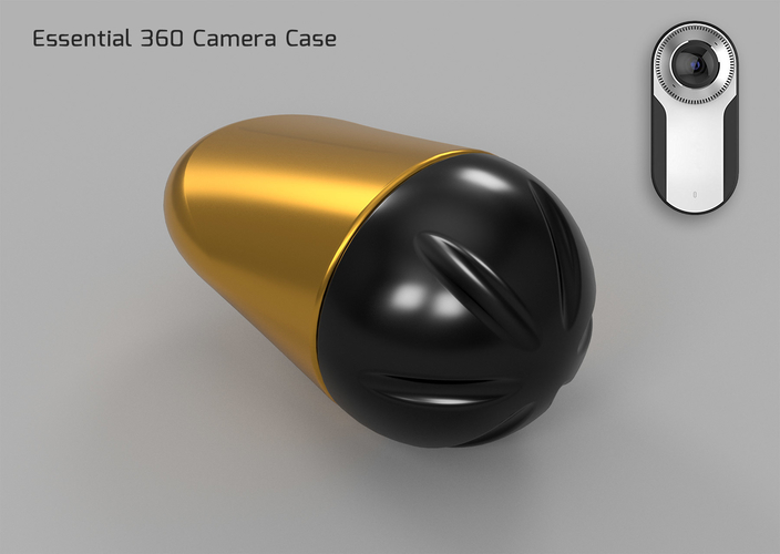 Essential 360 Camera Case  3D Print 218354