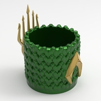 Small Aquaman Container 3D Printing 218386