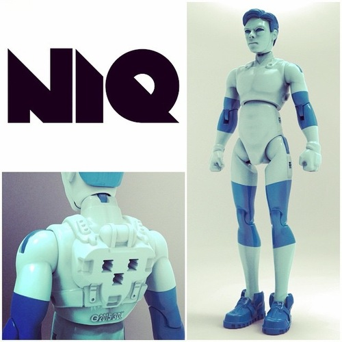 NiQ, The 3D-Printable Action Figure - by 3DKitbash.com 3D Print 21844