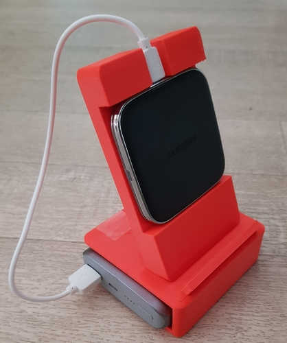 phone and powerbank holder for samsung 3D Print 218479