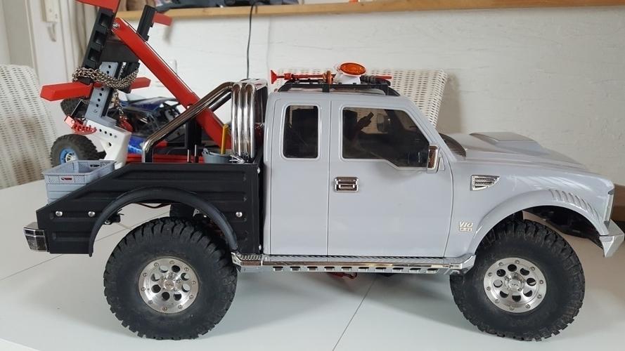 Crawler Scaler Cross-RC PG4 Wrecker Body