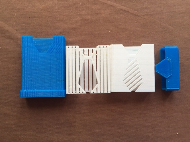 pocket organizer with interchangeable sleeves 3D Print 218643
