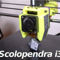 Small E3Dv5 - Scolopendra i3 Cooler for i3mega and other  3D Printing 218654