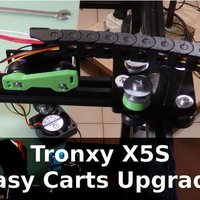 Small Tronxy X5S Easy Carts Upgrade  3D Printing 218657