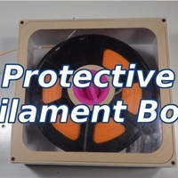 Small Protective Filament Box 3D Printing 218675