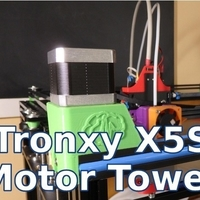 Small Tronxy X5S Motors Towers - CoreXY 3d Printer 3D Printing 218679