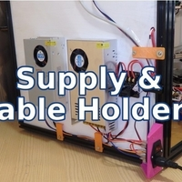 Small Supply & Cable Holder - Tronxy & Other Printers 3D Printing 218690