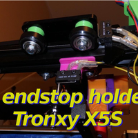 Small Z Endstop Holder - x5s and other printers 3D Printing 218700