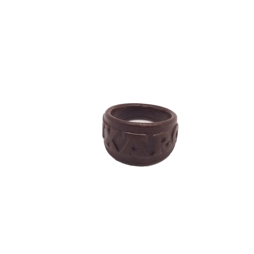 TXARO ring with embossed letters and customized 3D Print 218755
