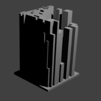 Small 3Dcity2 3D Printing 218886