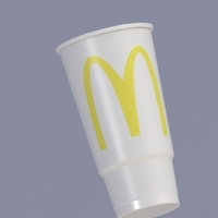 Small Mc Donalds Cup 3D Printing 218998