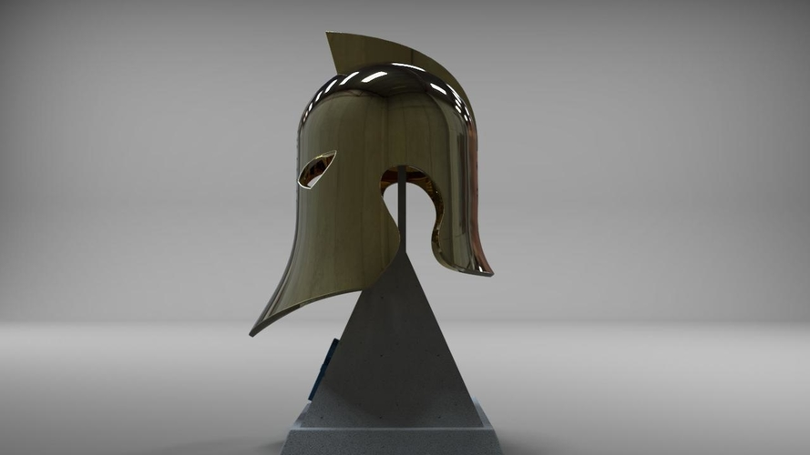 Dr Fate Helmet and stand 3D print model 3D Print 219014