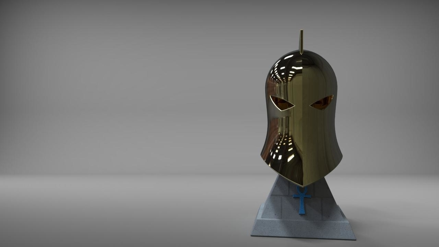 Dr Fate Helmet and stand 3D print model 3D Print 219016