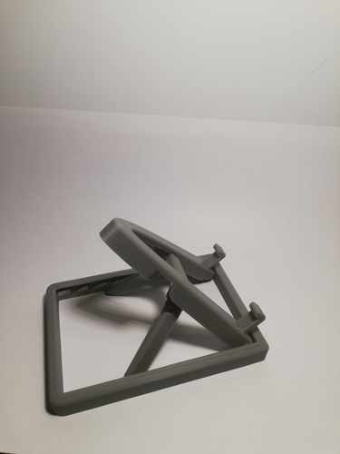 Collapsable/Adjustable Phone Stand (print in place) 3D Print 219078