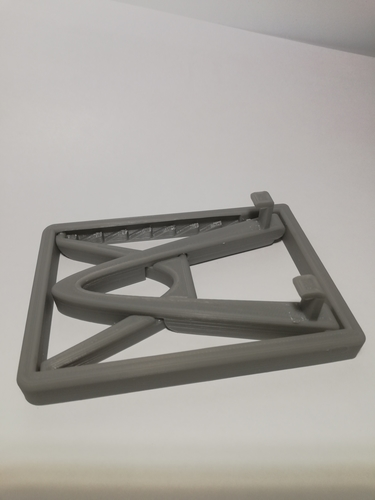 Collapsable/Adjustable Phone Stand (print in place) 3D Print 219079