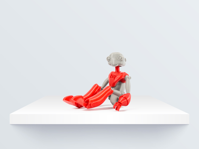 BeQui,  Jointed Robot 3D Print 219084