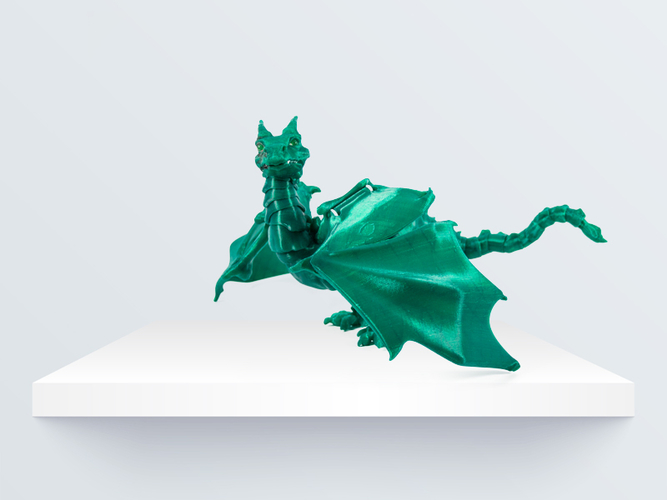"""Braq""  jointed dragon 3D Print 219087"
