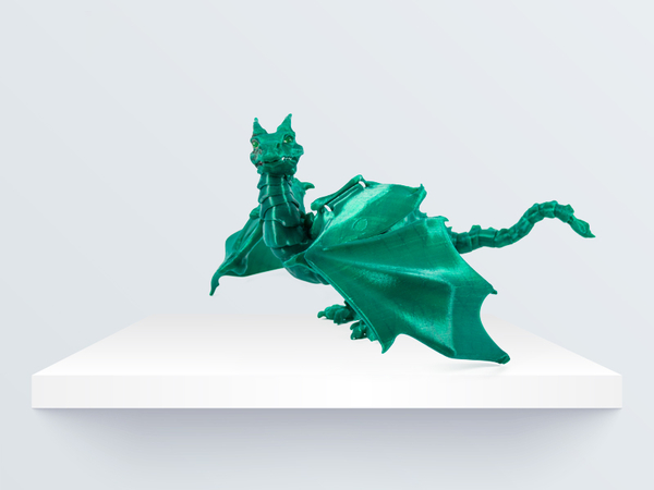 "Medium ""Braq""  jointed dragon 3D Printing 219087"