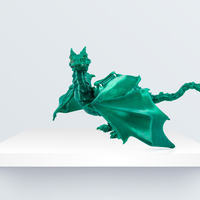 "Small ""Braq""  jointed dragon 3D Printing 219087"