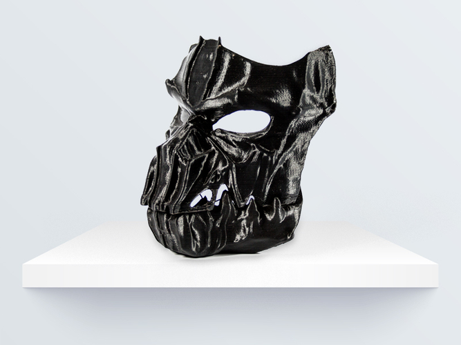 Dark Mask - Jointed 3D Print 219094