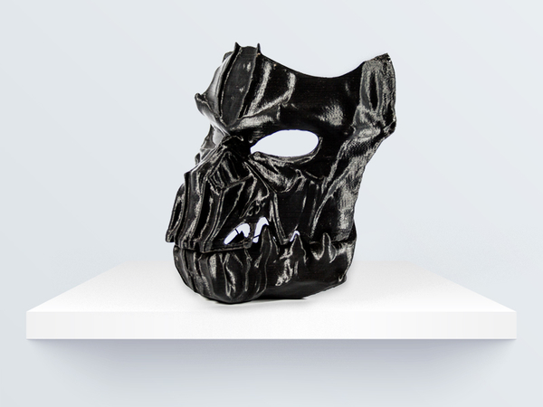 Medium Dark Mask - Jointed 3D Printing 219094