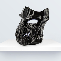 Small Dark Mask - Jointed 3D Printing 219094